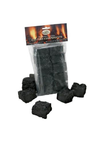 10 Medium Coals for Gas Fires